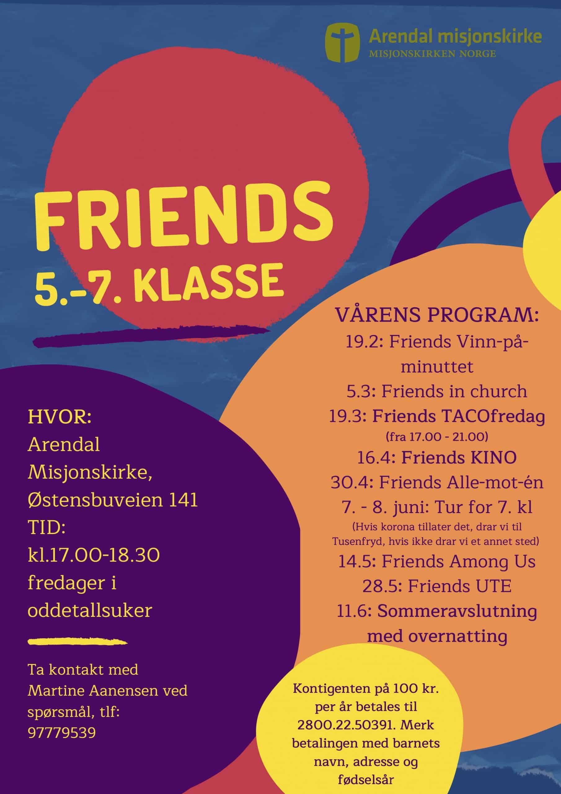 FRIENDS 5.-7. klasse (2)